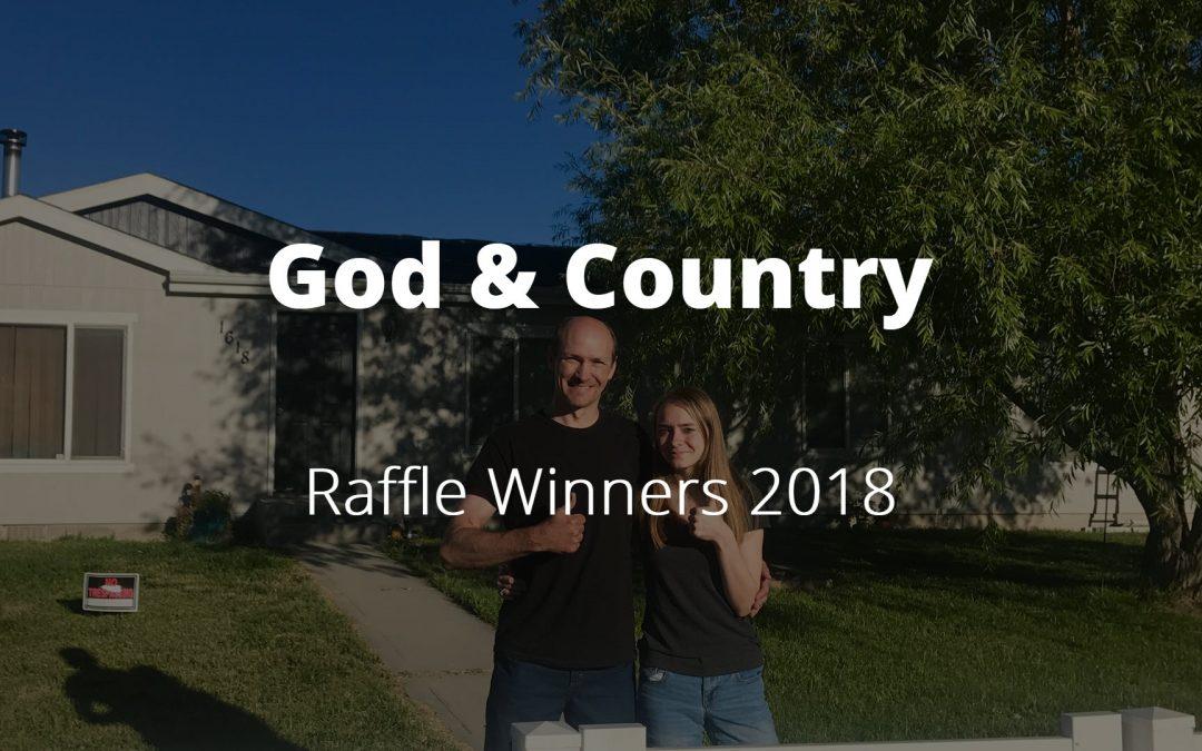 God & Country Event Raffle Winner