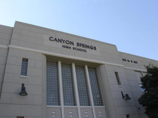 Canyon Springs High School