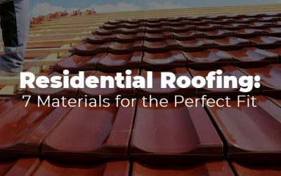 7 Residential Roofing Materials for the Perfect Fit
