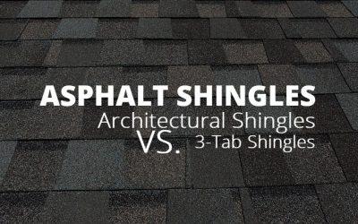 Architectural Shingles vs. 3-Tab Shingles